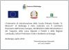 """Targa Ristrutturazione Scuola Primaria """"A .Manzoni"""""""